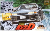 Initial D: 1/24 Nissan R32 GTR (Nakazato Takeshi Ver.) - Model Kit