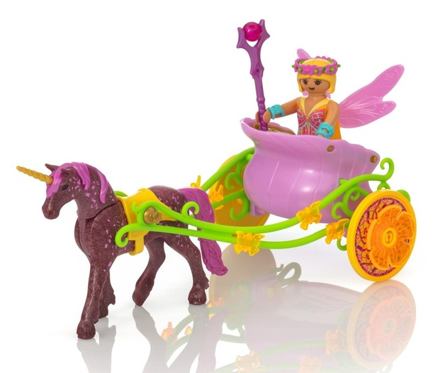 Playmobil: Fairies - Unicorn Drawn Carriage (9136)