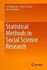 Statistical Methods in Social Science Research by S. P. Mukherjee image