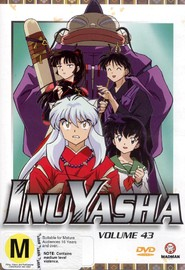 InuYasha - Vol. 43 on DVD image