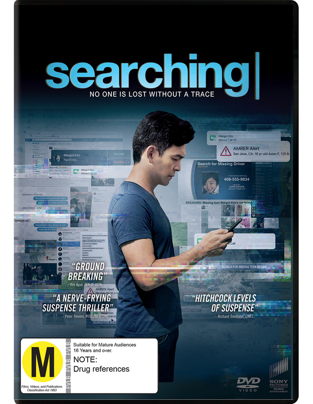 Searching (2018) on DVD