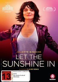 Let The Sunshine In (Un Beau Soleil Intérieur) on DVD