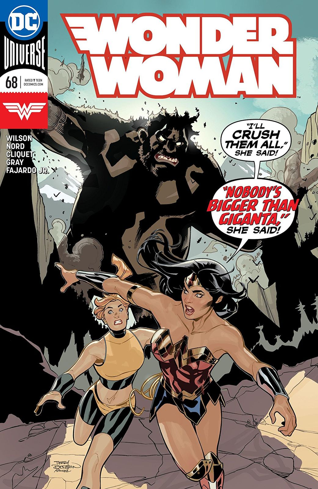 Wonder Woman - #68 (Cover A) by G.Willow Wilson image