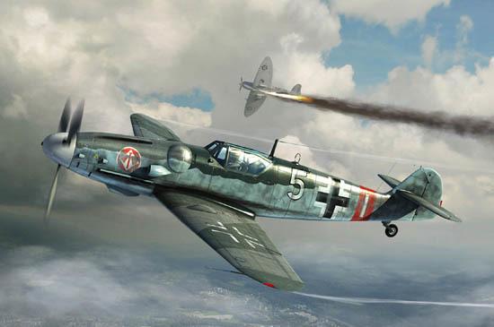 Trumpeter: Messerschmitt Bf109G-6 - 1/32 Scale Model Kit