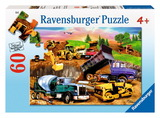 Ravensburger 60 Piece Jigsaw Puzzle - Construction Crowd