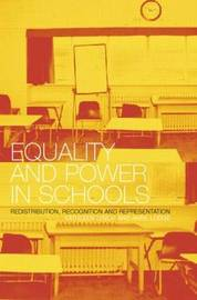 Equality and Power in Schools by Anne Lodge image