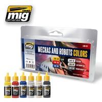 Robots & Mechas Colours Set