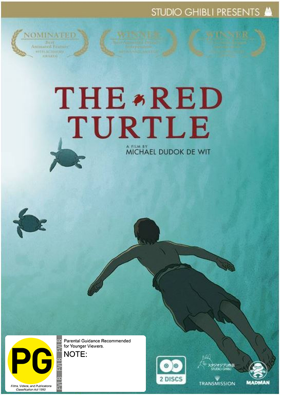 The Red Turtle on DVD image