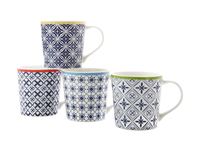 Maxwell & Williams - Luxor Mug Set of 4 (400ml)