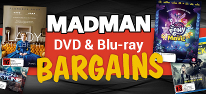 Madman DVD & Blu-ray Bargains!