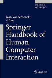 Springer Handbook of Human Computer Interaction