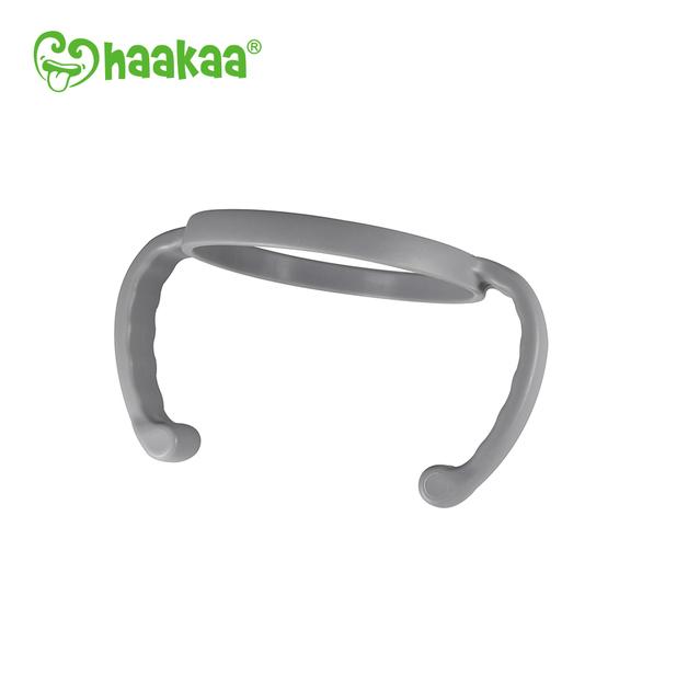 Haakaa: Generation 3 Silicone Bottle Handle - Gray