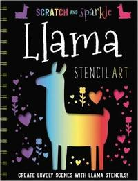 Llamas Stencil Art by Make Believe Ideas, Ltd.