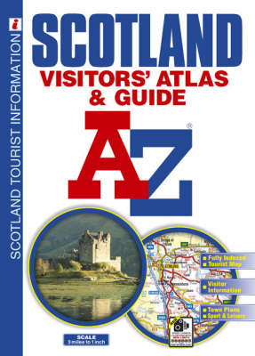 Scotland Visitors' Atlas by Geographers A-Z Map Company image