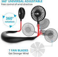 Ape Basics Mini Hand Free Neck Fan image