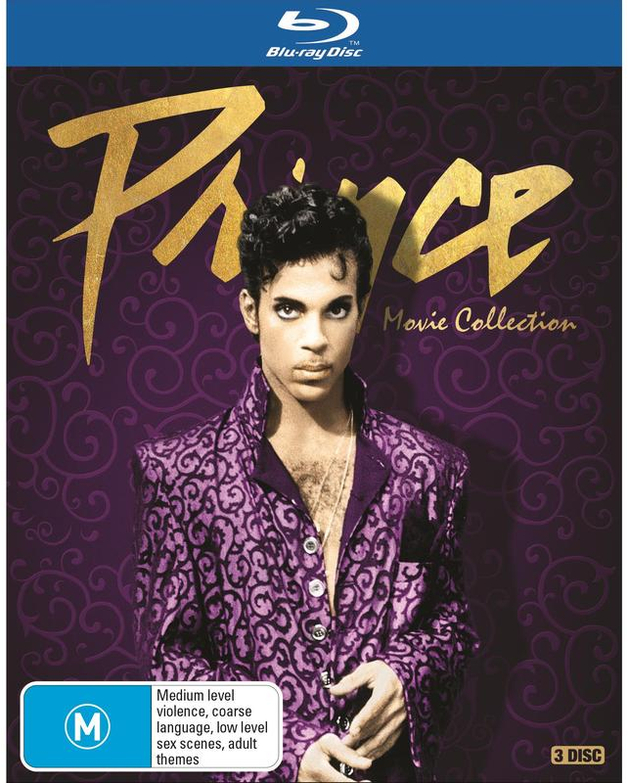Prince - Movie Collection on Blu-ray