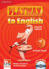 Playway to English Level 1 Activity Book with CD-ROM: Level 1 by Gunter Gerngross