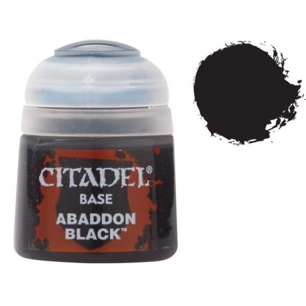 Citadel Base: Abaddon Black image