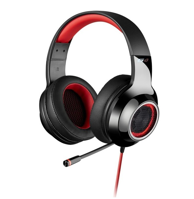 Edifier G4 Gaming Headset - Red (PC & PS4) for