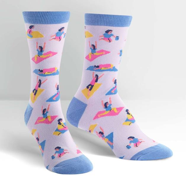 Women's - Pose Your Toes Crew Socks