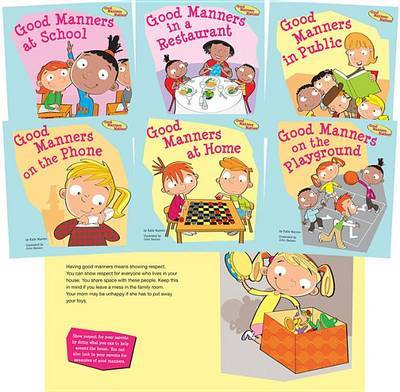 Good Manners Matter! by Katie Marsico image