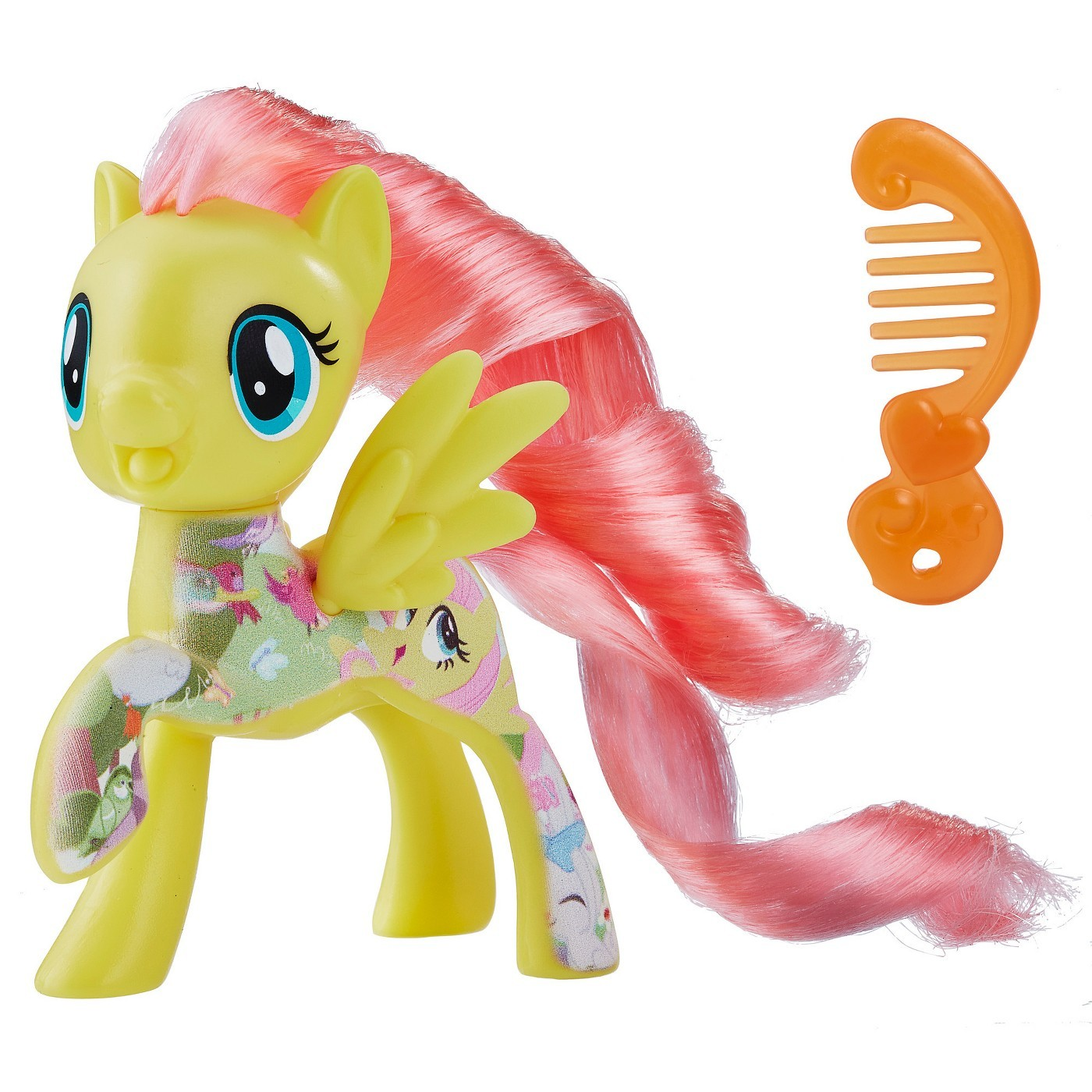"""My Little Pony: The Movie 3"""" Mini-Figure - All About Fluttershy image"""