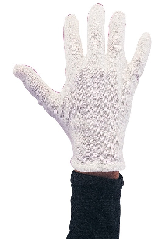 Rubie's: Mens - White Cotton Glove