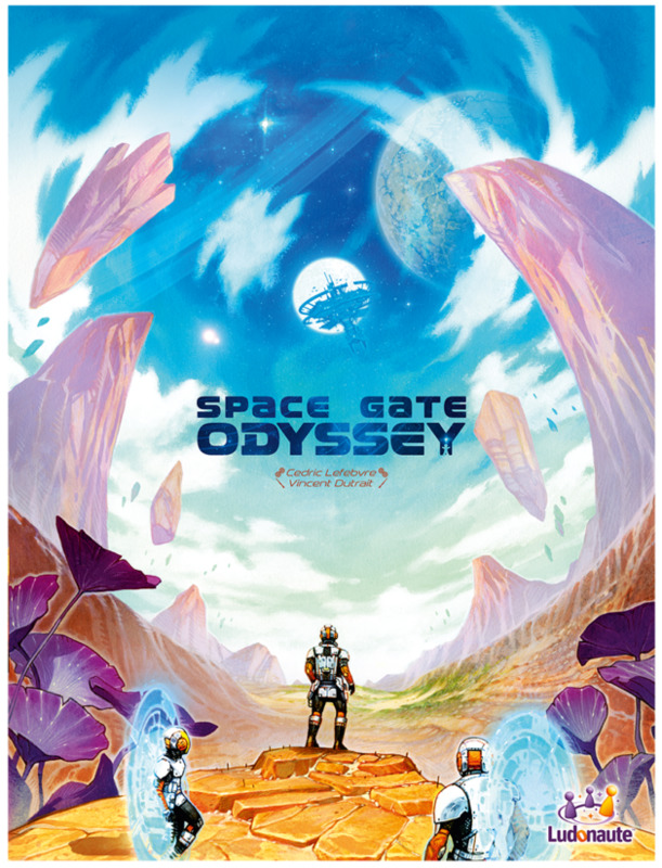 Space Gate Odyssey - Board Game