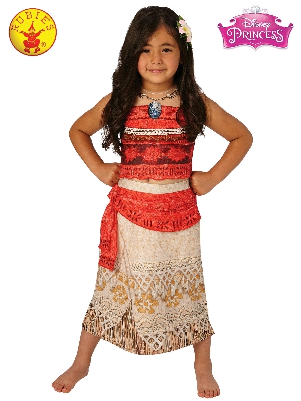 Moana Deluxe Costume - Size 3-4