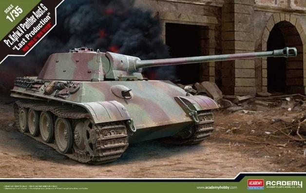 Academy German Pz.Kpfw.V Panther Ausf.G [Last Production] 1/35 Model Kit