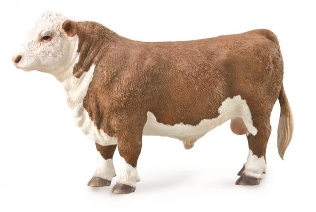 CollectA - Hereford Bull-Polled (L)