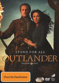 Outlander - Season 5 on DVD image