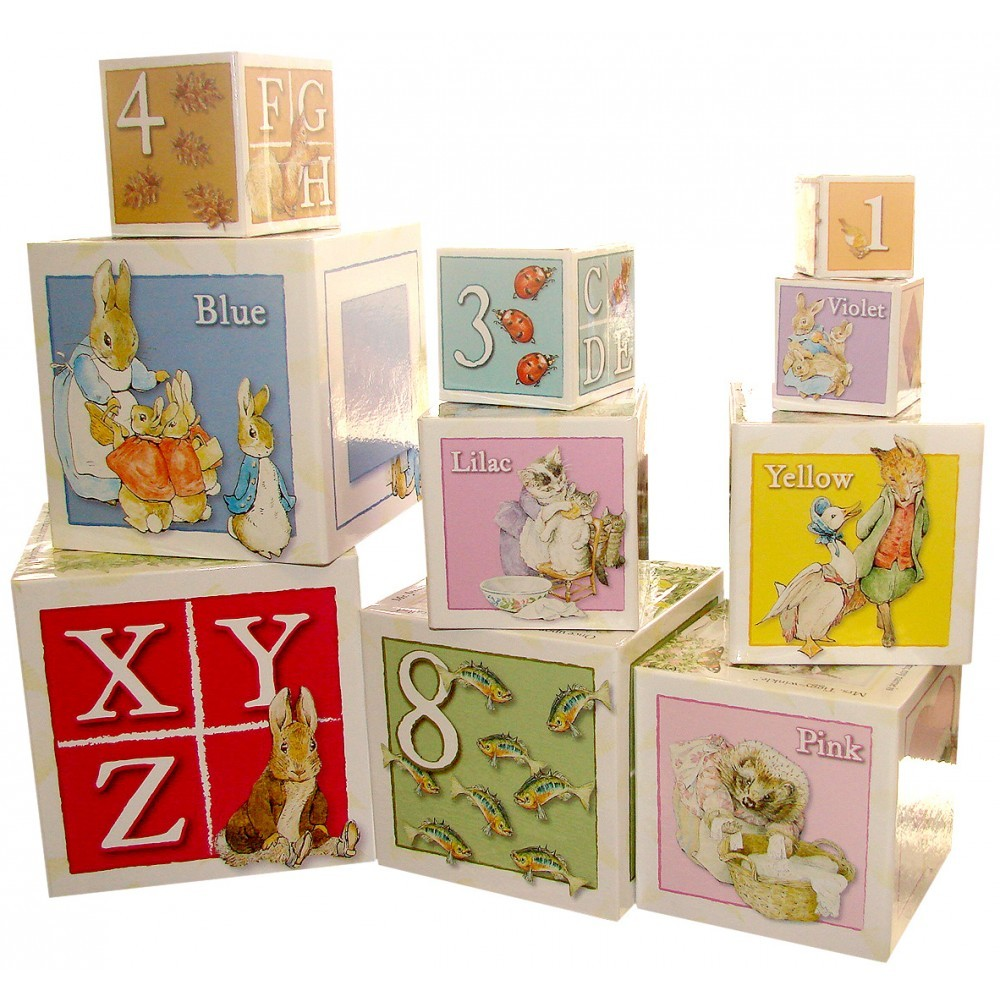 Beatrix Potter Baby Gifts Australia : Buy beatrix potter building blocks at mighty ape australia