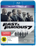 Fast and Furious 7 on Blu-ray