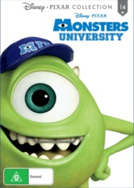 Monsters University (Pixar Collection 14) on DVD