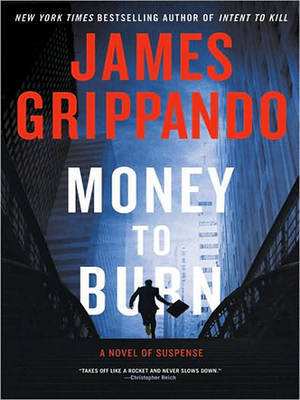 Money To Burn Large Print by James Grippando image