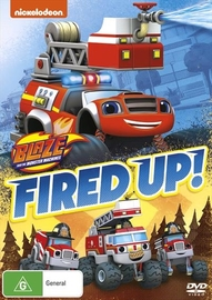 Blaze And The Monster Machines: Fired Up! on DVD