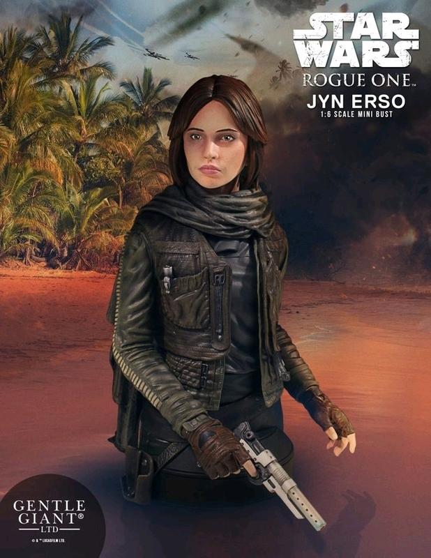 Star Wars: Rogue One - Jyn Erso Mini Bust