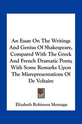 an essay on the writings and genius of shakespeare