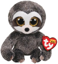 Ty Beanie Boo: Grey Sloth - Small Plush