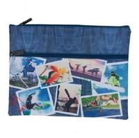 Spencil: Sports Collage A4 Pencil Case