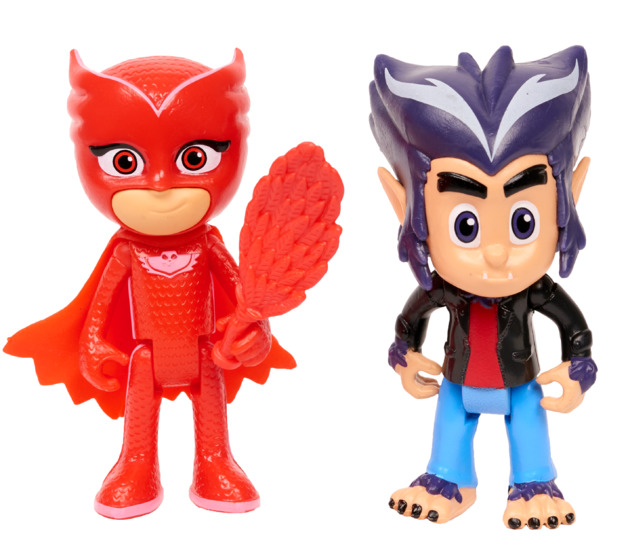 PJ Masks: Figure 2-Pack - Owlette & Howler