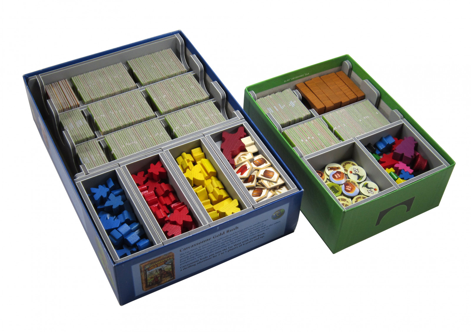 Folded Space: Game Inserts - Carcassonne image