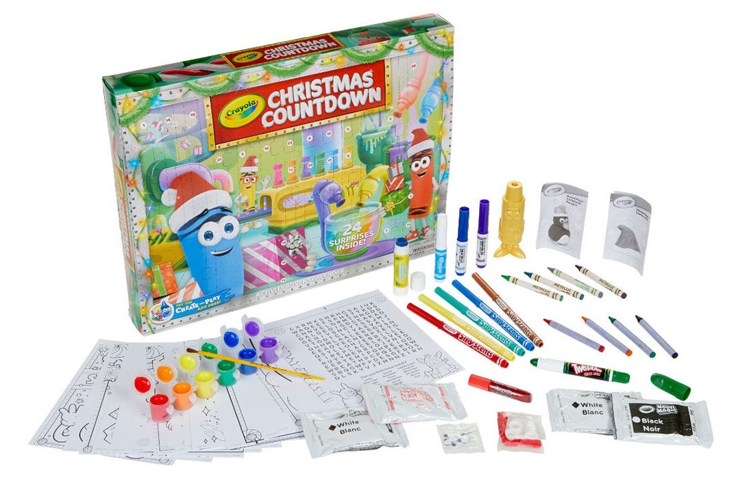 CRAYOLA ADVENT CALENDAR AUSTRALIA