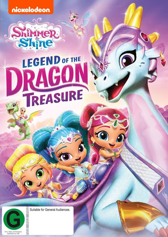 Shimmer And Shine: Legend Of The Dragon Treasure on DVD