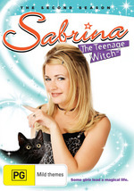 Sabrina, The Teenage Witch -  Season 2 (4 Disc Set) on DVD