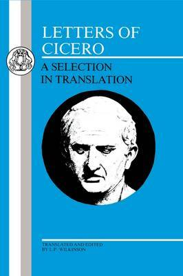 Letters by Marcus Tullius Cicero image