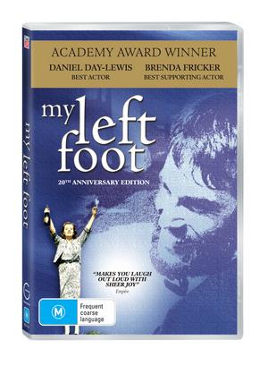 My Left Foot on DVD