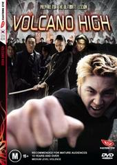 Volcano High on DVD