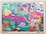 Melissa & Doug: Mermaid Fantasea Wooden Jigsaw Puzzle - 48 Pieces